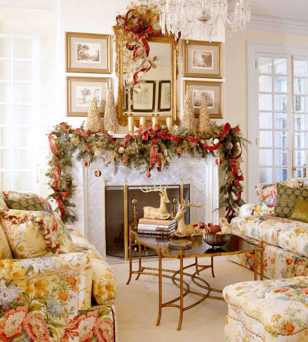 Подборка идей для украшения интерьера к Новому году и Рождеству