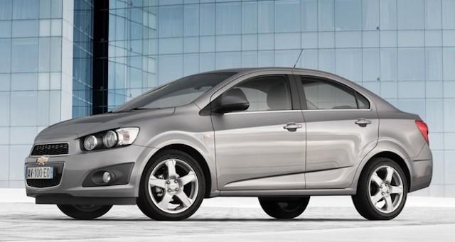 Бюджетный седан Chevrolet Aveo может вернуться в Россию