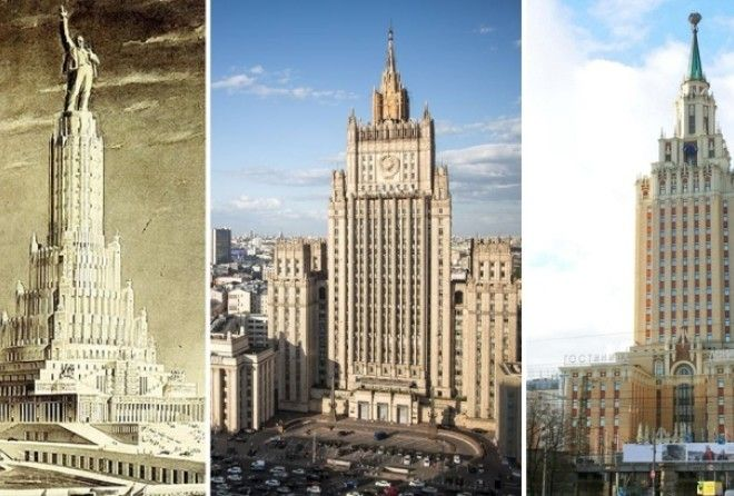 У каждого из этих зданий своя захватывающая история