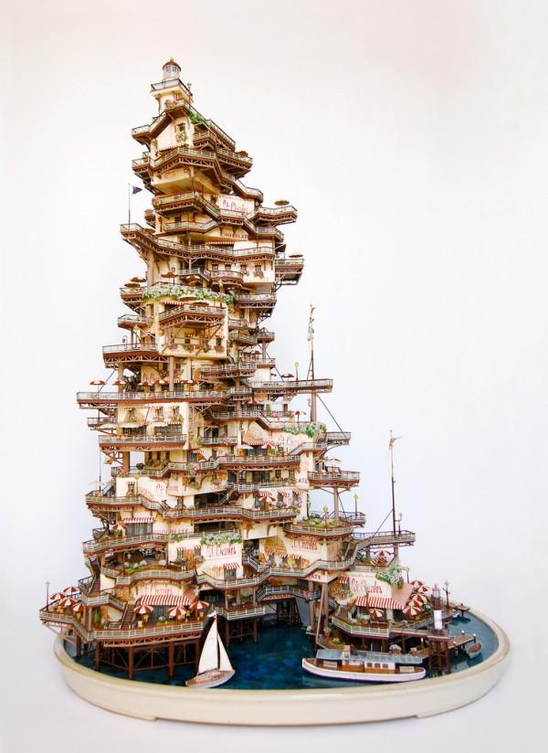 Скульптуры из бонсай деревьев от Таканори Айба