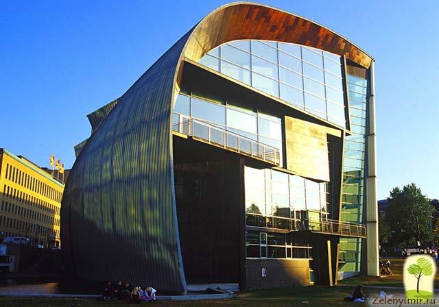 Музей современного искусства Киасма в Хельсинки, Финляндия - 3