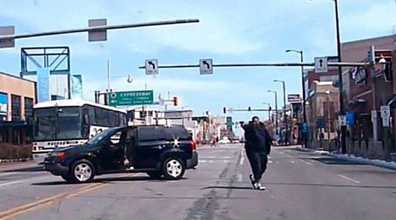Очередная полицейская погоня и перестрелка с летальным исходом в США