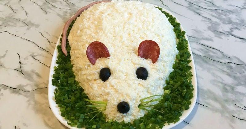 Нежный и вкусный салат «Мышка»: абсолютный хит праздничного стола
