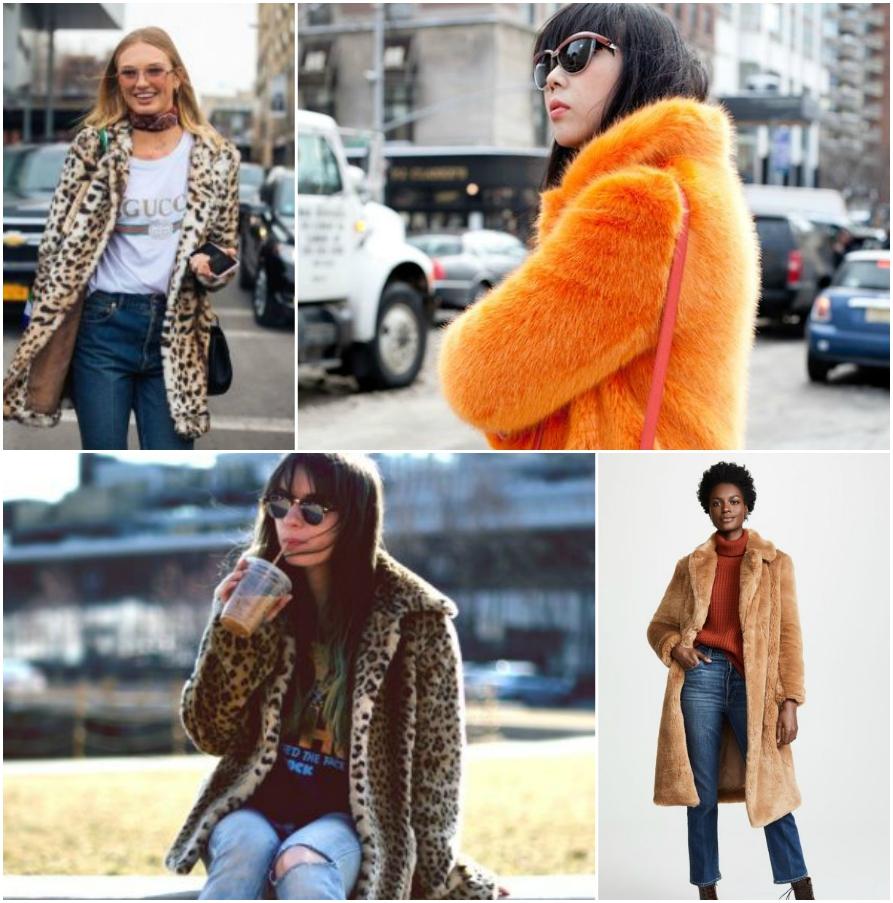 пальто из меха