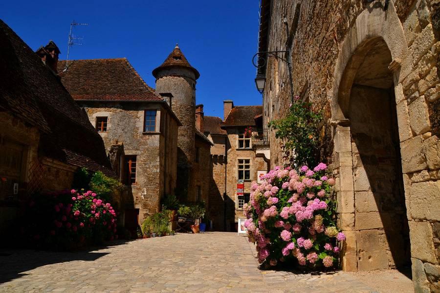 Деревня Каренак, Франция. Фотопрогулка