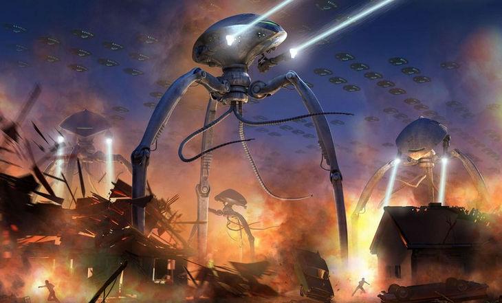 Инопланетяне правят миром
