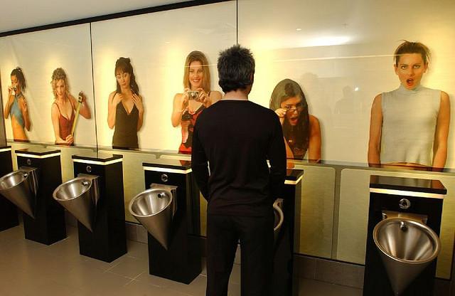 20 самых странных общественных туалетов в мире