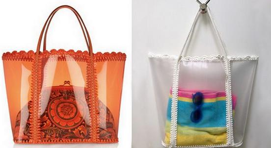 Модная пляжная сумка своими руками