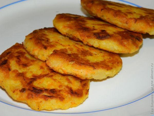 Драники из варёного картофеля рецепт с пошагово