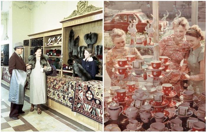 Советская реальность в объективе известных фотографов: Реклама и дефицит в СССР