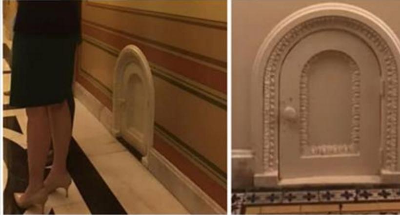 В Капитолии стараются, чтобы гости не замечали маленькие дверцы повсюду, а они важны