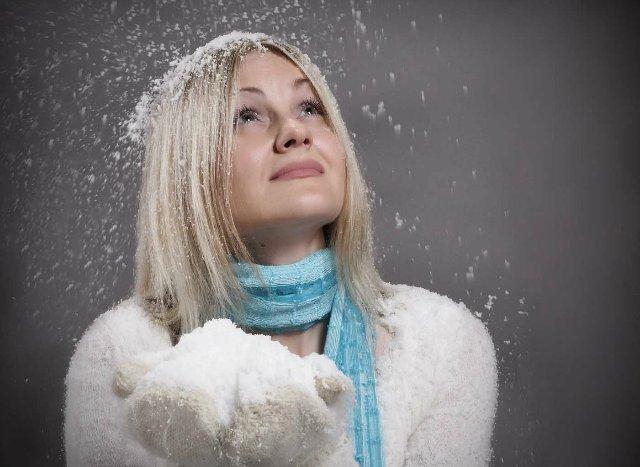 Как сделать театральный снег