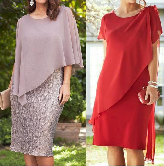 Выкройка коктейльного платья для пышных дам