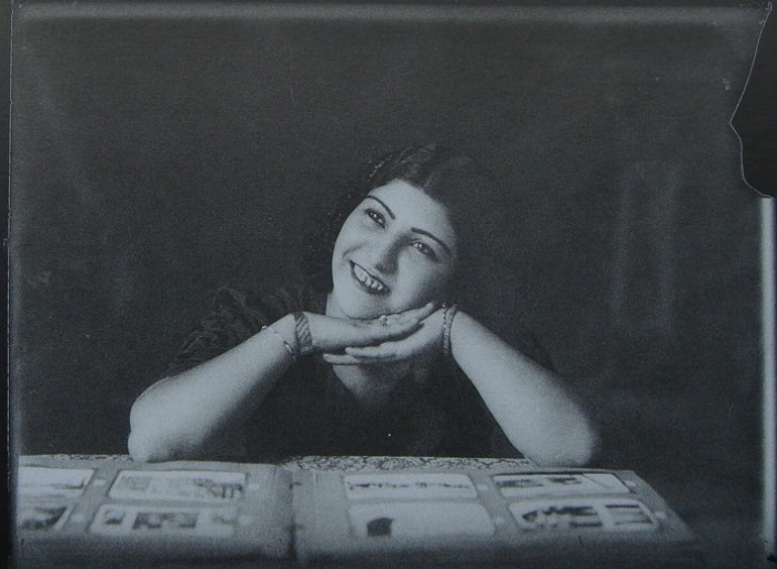 Иранская женщина. Конец 1940-х годов. | Фото: salijoon.us.