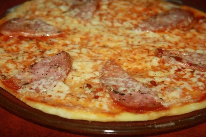 Настоящая пицца в микроволно…