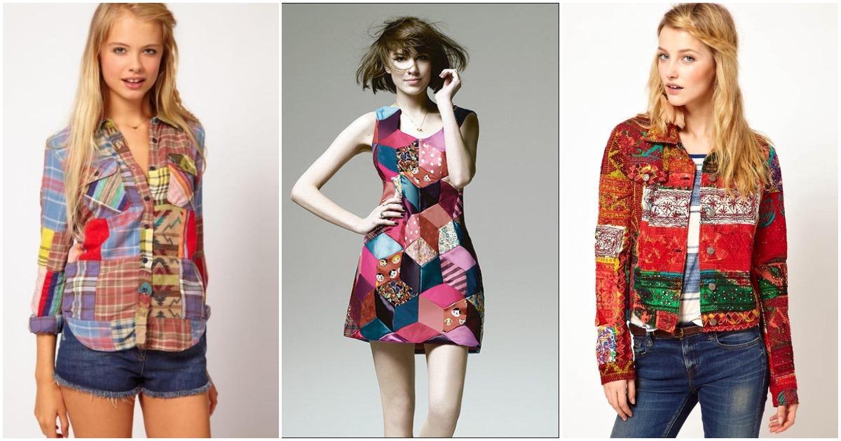 Одежда в стиле «пэчворк». Подборка модных образов