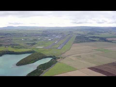 Опасное сближение дрона и Airbus A380 на Маврикии