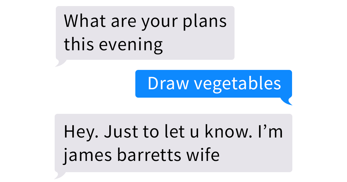 Wife Finds Messages From Another Woman On Husband's Phone, And Her Reaction Becomes A Hilarious Meme