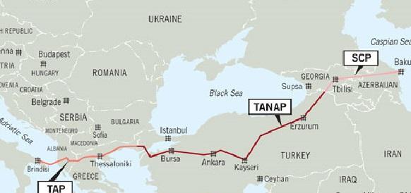 Алиев: через два-три года азербайджанский газ поступит вЕвропу