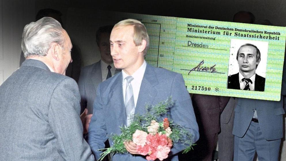 В Германии обнаружили удостоверение тайной полиции на имя Путина