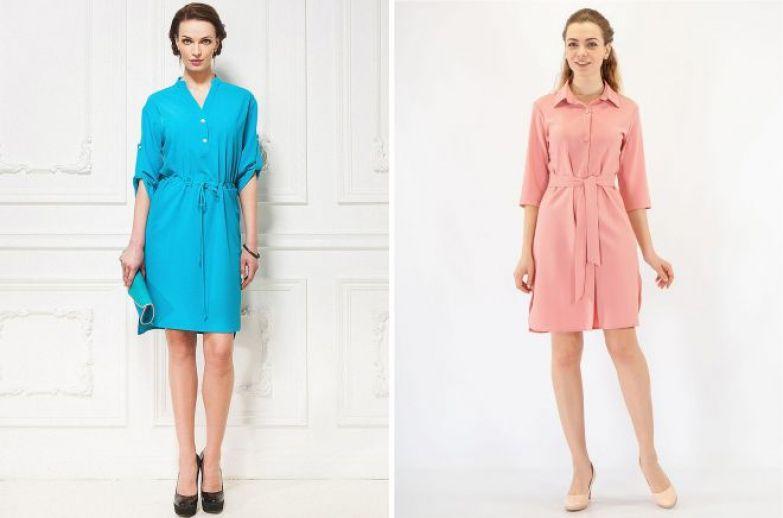 модные повседневные платья 2018 года