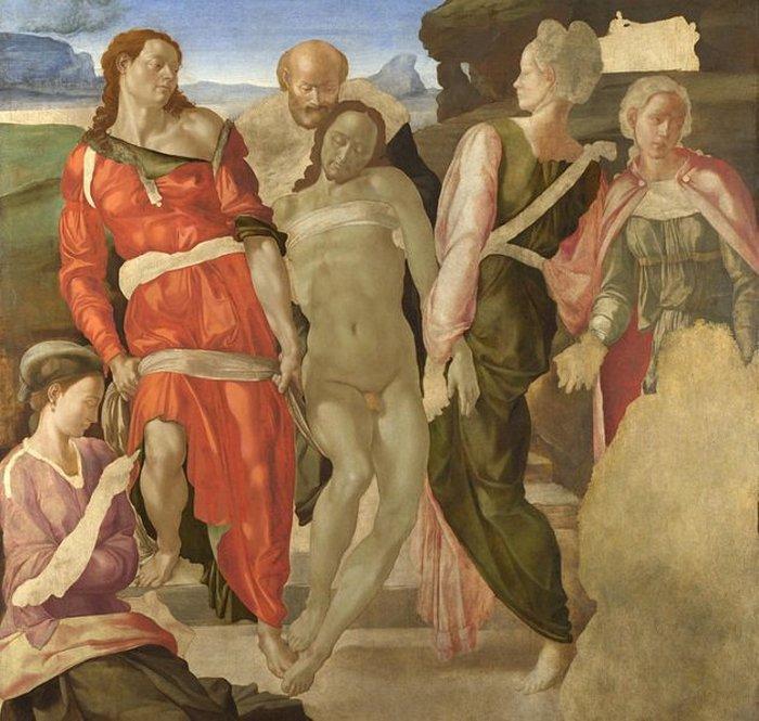 Погребение. Микеланджело