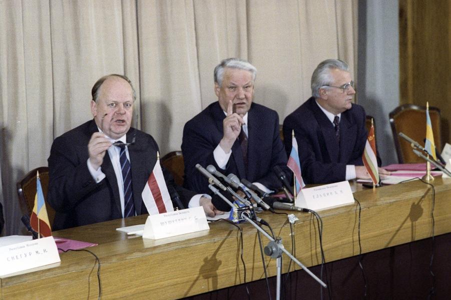 СССР развалил Кравчук. И он уверен, что войны между Россией и Украиной не будет
