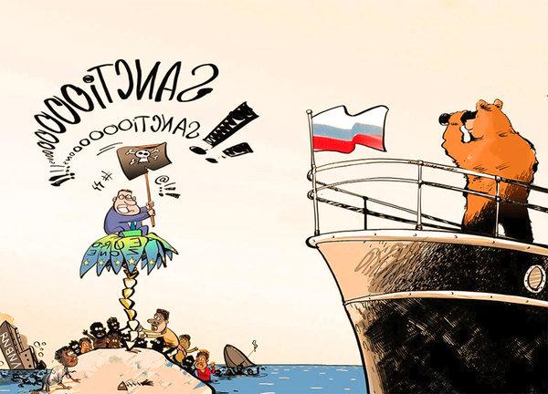 Почему санкции Запада не в с…