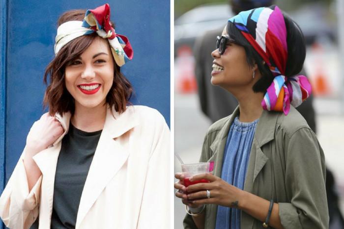 7 оригинальных способов носить платок так, чтобы выглядеть неподражаемо