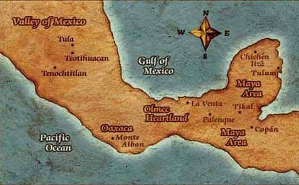 Загадочная цивилизация олмеков. Цивилизация майя. Русский гений расшифровал письменность майя (3 статьи)