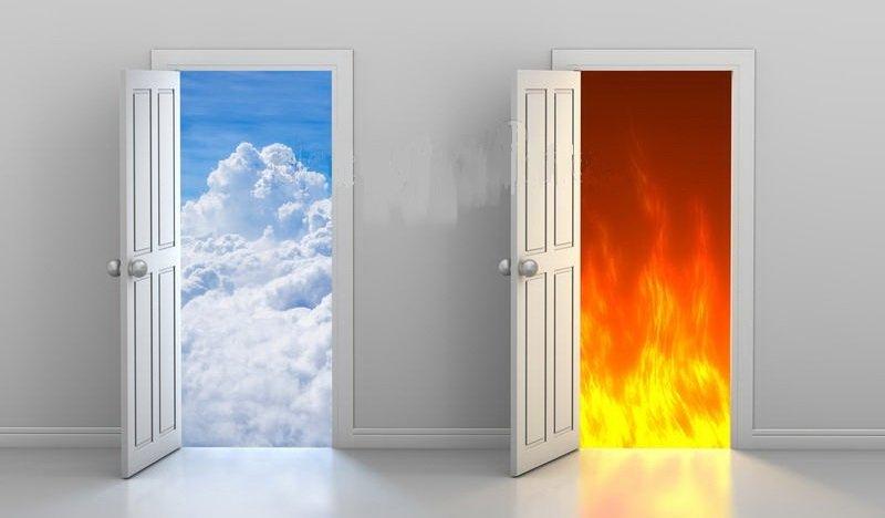 Логическая задачка о дверях в рай и ад