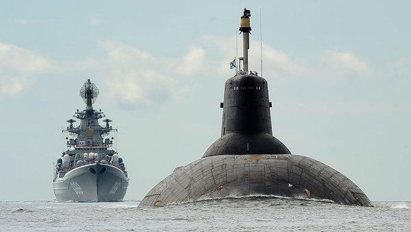 Российская подлодка, длиной …