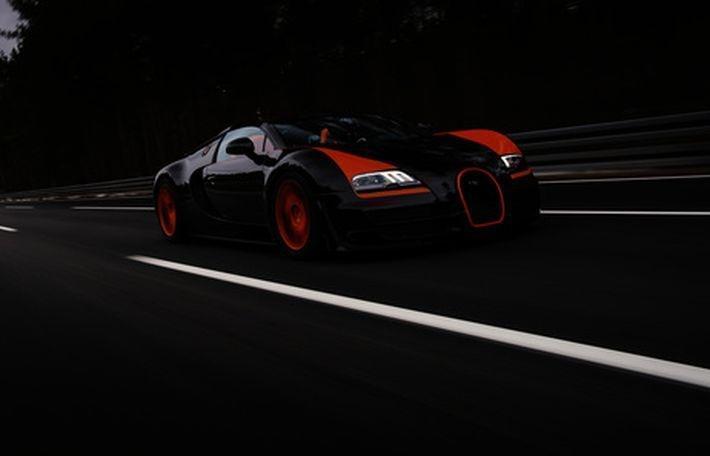 Рекордную сумму транспортного налога заплатит владелец спорткара Bugatti