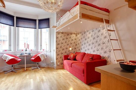 Однокомнатная квартира с детской.Разные варианты