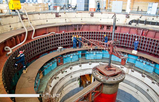 Экскурсия по ГЭС