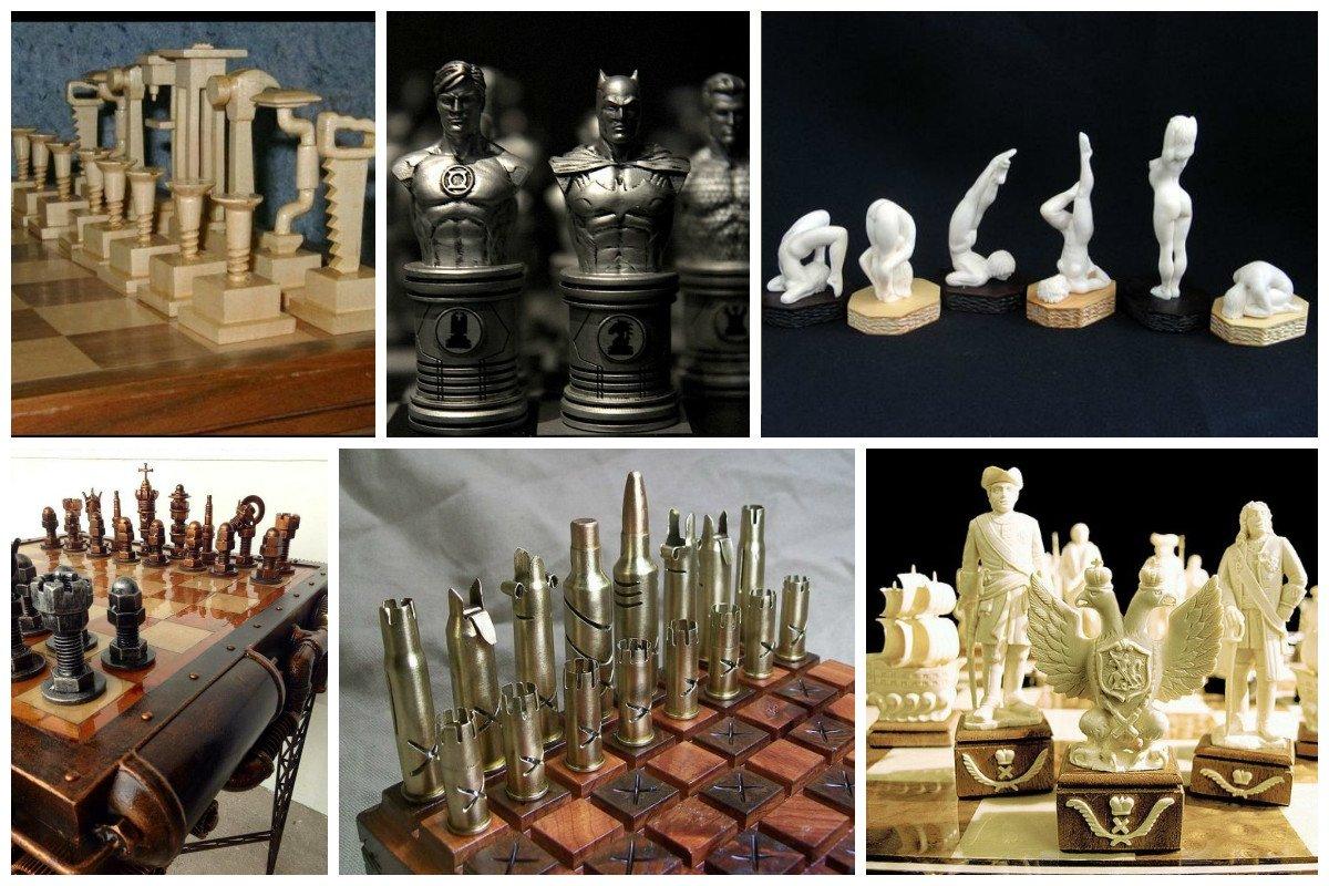 Невероятный полет фантазии шахматных мастеров