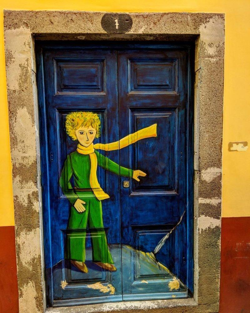 5. дверь, картина, мадейра, португалия, путешествие, фотография, фотомир