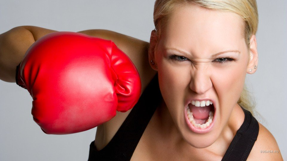 Женская агрессия становится страшной