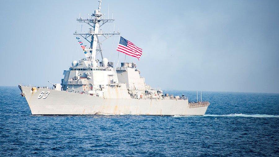 45 ярдов! Так же нельзя!! У нас памперсы кончаются... - Бравые моряки ВМФ США снова плачут