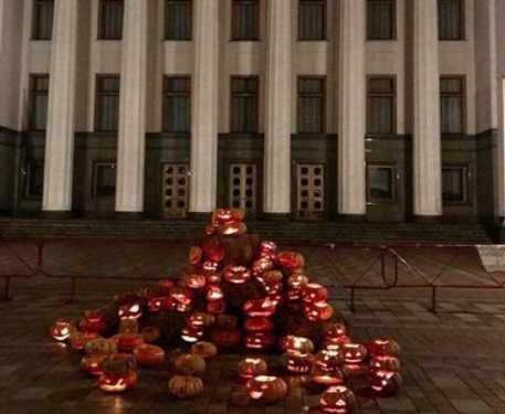 Итоги украинской недели. Страна Хеллоуина