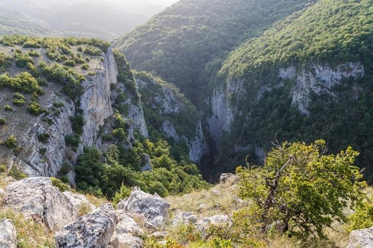 Виды с горы Бойко
