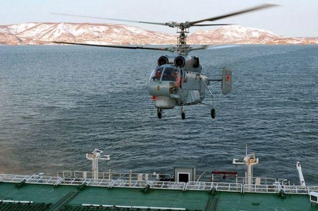 Экипажи вертолетов Балтфлота уничтожили подлодку условного противника