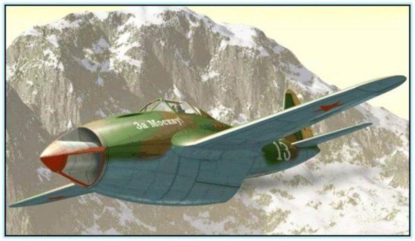 Проект реактивного истребителя Гу-ВРД (СССР. 1943 год)