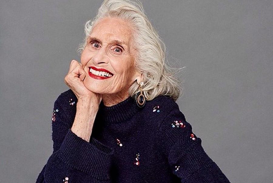 Возраст —  всего лишь цифра! И 89-летняя модель из Лондона это доказала