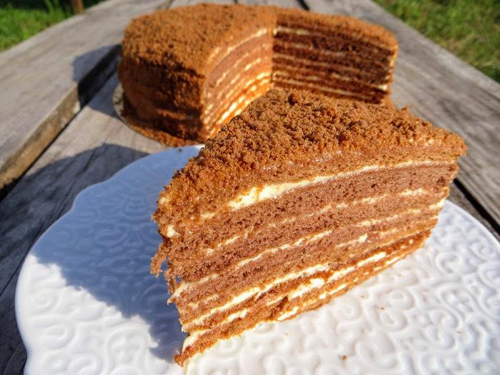 Шикарный медовый торт! Вы забудете всё на свете!