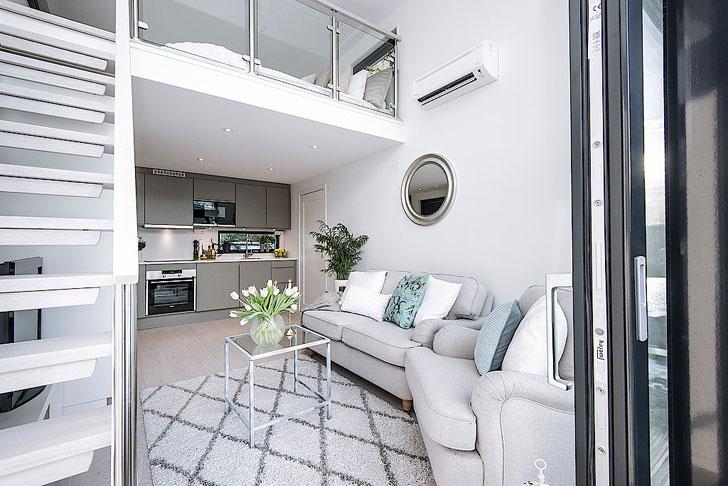 Дом размером меньше квартиры в Швеции (33 кв. м)