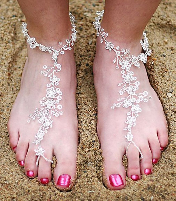 Пляжная обувь своими руками
