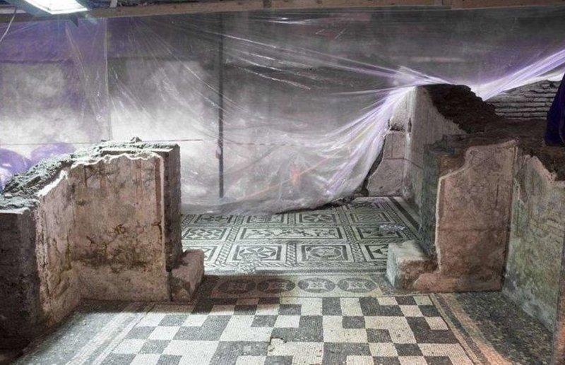 В Риме нашли 2-тысячелетнюю виллу командира — на глубине 12 метров под землей