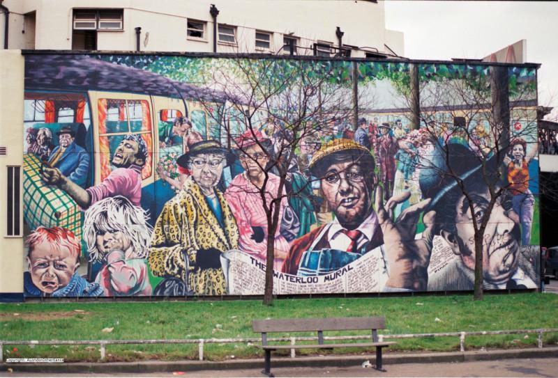 Каким был Лондон до Бэнкси: уличный арт 80-х годов