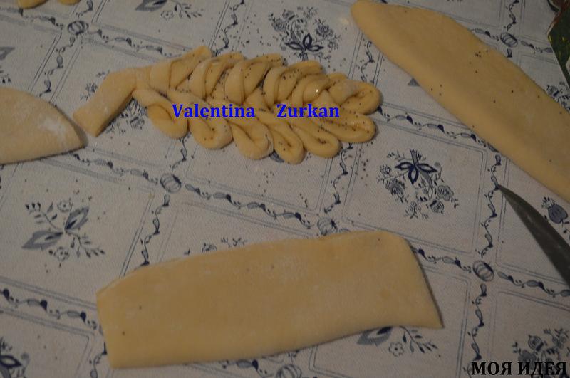 Украшение пирогов от Валентины Цуркан